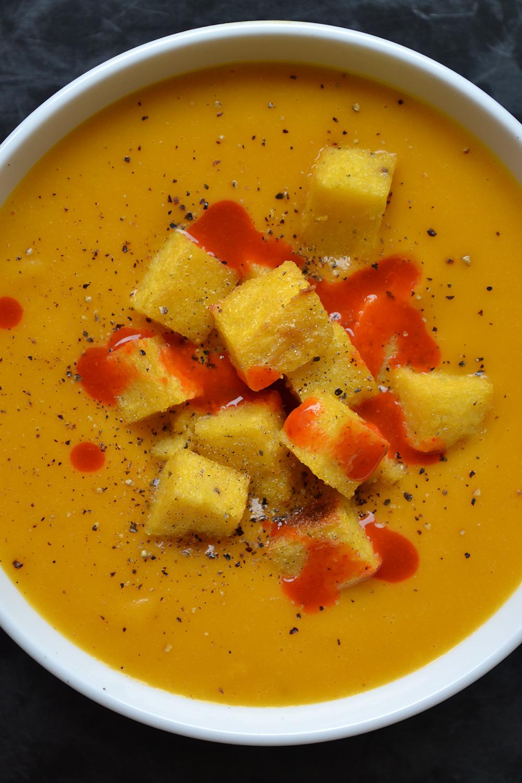 Creamy Carrot and Sweet Potato Soup 2