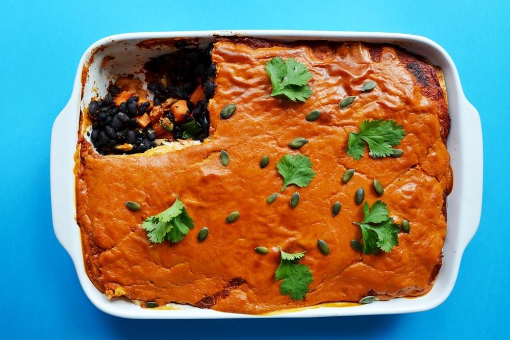 Enchilada Lasagne 4