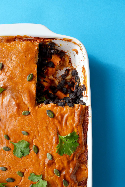 Enchilada Lasagne