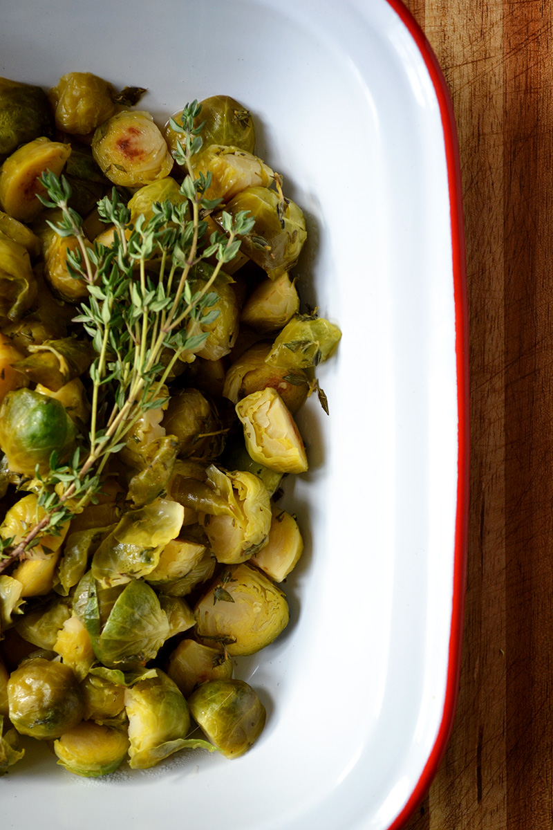 Garlic Braised Sprouts | laurathomaphd.co.uk 7