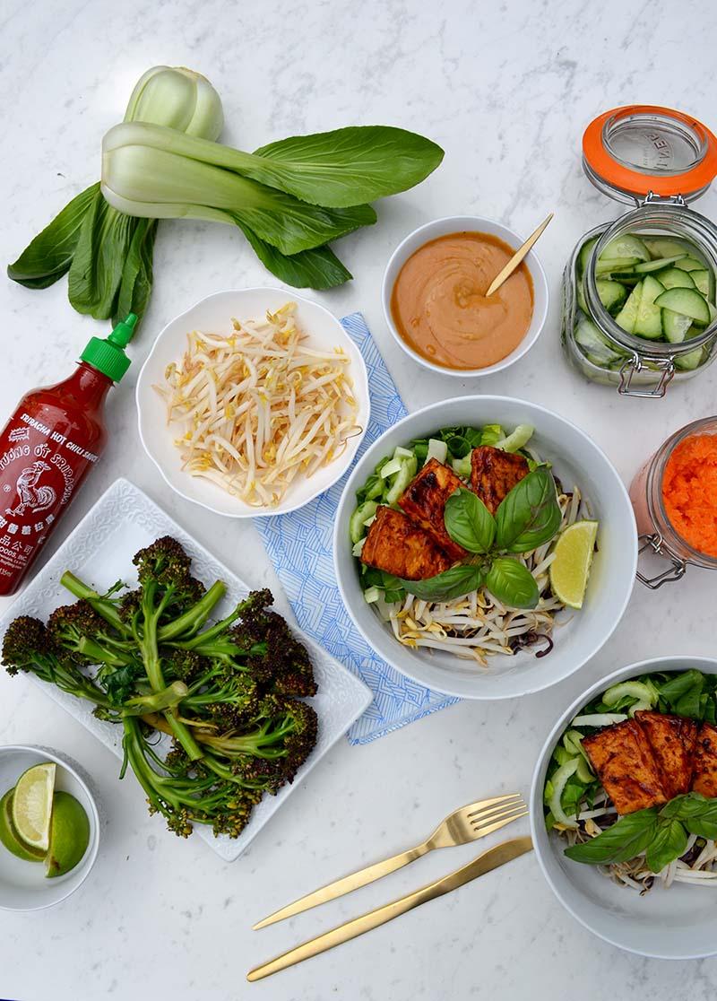 Miso Sriracha Tofu 4