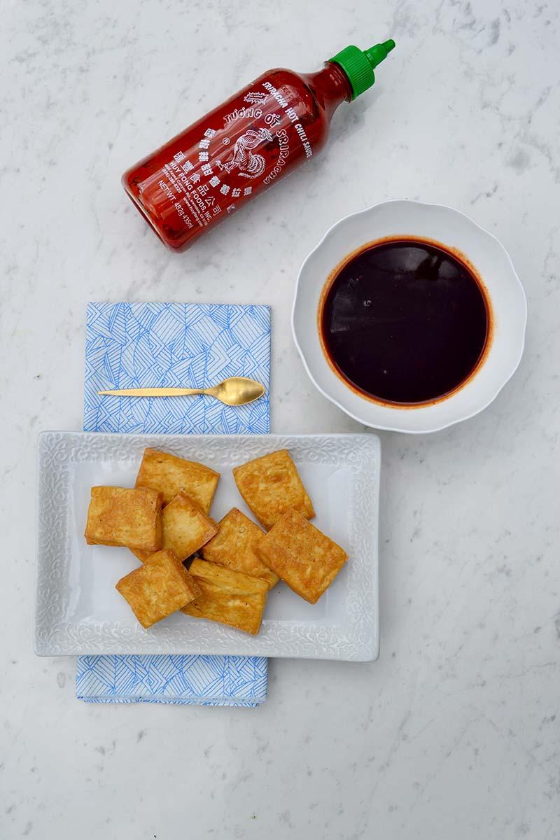 Miso Sriracha Tofu 5