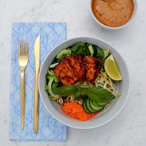 How to cook tofu right & a Sriracha Miso tofu bowl