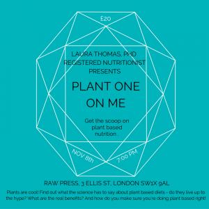 Plant One On Me – Raw Press 8th November
